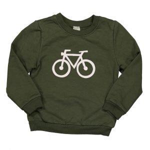 BI SUIT Sudadera Bike Verde Militar