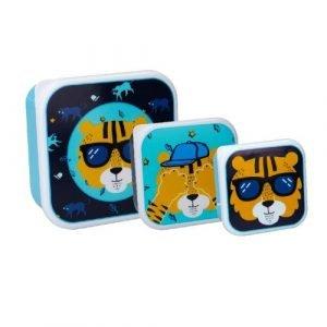 PRÊT 3 cajas almuerzo Tigre