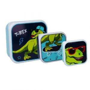 PRÊT 3 cajas almuerzo T-Rex