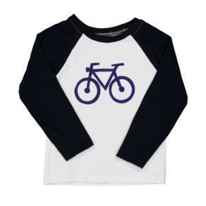 BI SUIT camiseta manga larga Bicolor Blue Bike
