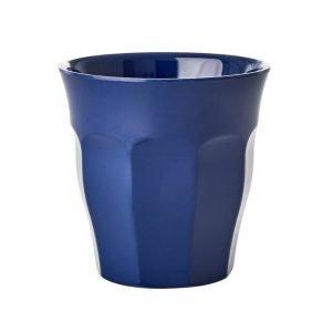 RICE vaso mediano Navy Blue
