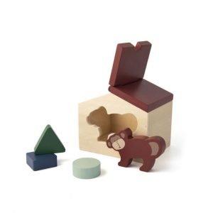 TRIXIE casa de madera Mono