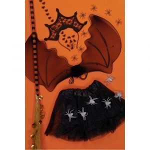 SUIT BEIBI disfraz Araña 3 piezas Negro