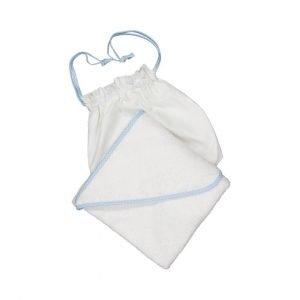 SUIT BEIBI toalla delantal Azul