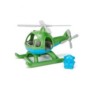 GREEN TOYS helicóptero Verde