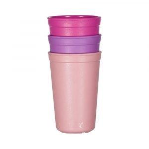 REPLAY pack 3 vaso rosa