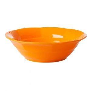 RICE plato hondo Tangerine