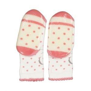 STERNTALER calcetín antideslizante Mouse Ecru