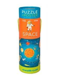 CROCODILE CREEK 200PC poster+puzzle space