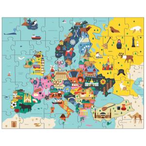 MUDPUPPY puzzle 70PC geo europe