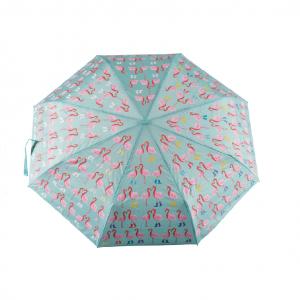 FLOSS AND ROCK paraguas plegable flamingo