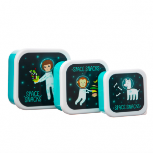 SASS AND BELLE tupper set 3 space explorer