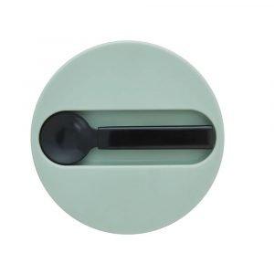 DESIGN LETTERS termo pequeño solido green