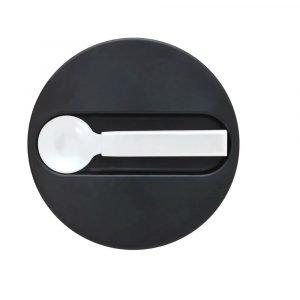 DESIGN LETTERS termo pequeño solido black