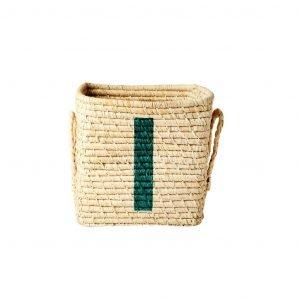 RICE raffia basket I