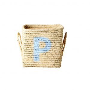 RICE raffia basket P