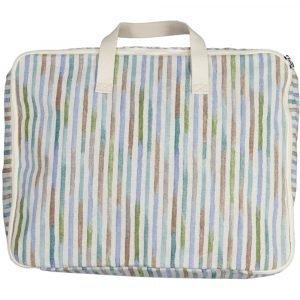 SUIT BEIBI maleta algodón rayas