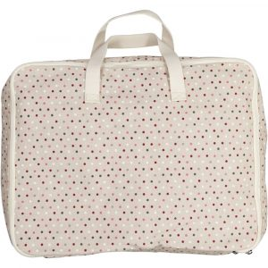 SUIT BEIBI maleta algodón topitos