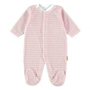PETIT OH pijama terciopelo Raya Pink T/Light