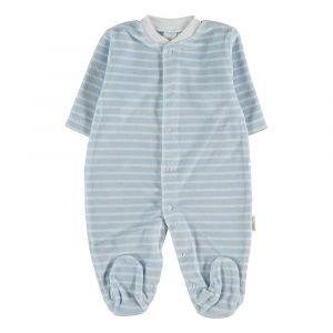 PETIT OH pijama terciopelo Raya Grey Vainilla