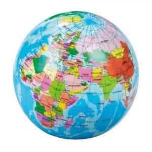 MOSES balón mapa Tierra