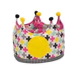 MICUMACU corona cumpleaños niños Pink Circus