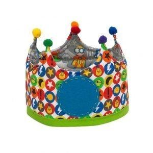 MICUMACU corona cumpleaños niños Superhéroes