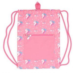TUTETE mochila saco impermeable para niños Unicornio