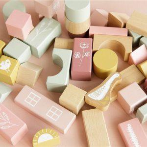 LITTLE DUTCH bloques de construcción Rosa