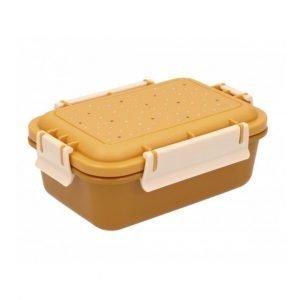 TUTETE caja almuerzo bento Dots Mostaza