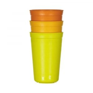 REPLAY pack 3 vaso naranja
