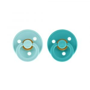 BIBS pack 2 chupetes mint/turquoise