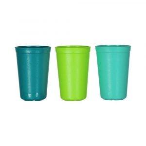 REPLAY pack 3 vaso teal