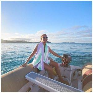 DOCK & BAY toalla summer lavanda L