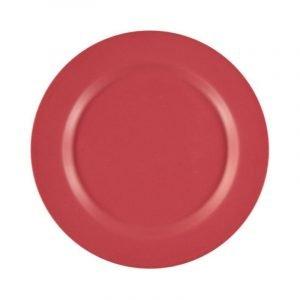 SUIT BEIBI plato bamboo dinner red