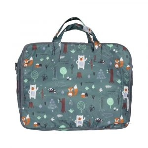 MY BAGS maleta forest green