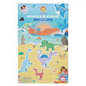 TIGER TRIBE movable playbook dino island