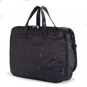 MY BAGS maleta confetti negro