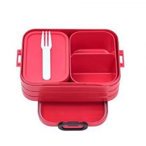 MEPAL bento box para niños nordic red