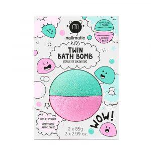 NAILMATIC bomba de baño rosa y verde