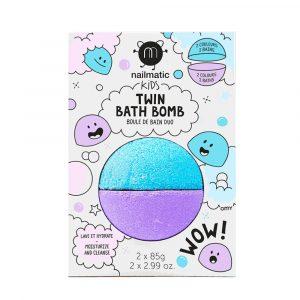 NAILMATIC bomba de baño azul y violeta