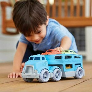 GREEN TOYS camion transporta Coches