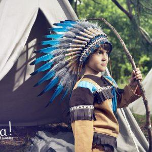 SOUZA plumas indio navajo