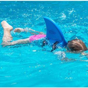 SWIMFIN aleta tiburon azul