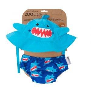 ZOOCCHINI conjunto para niños 2pz tiburón
