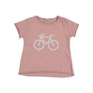 SUIT BEIBI camiseta bicicleta rosa