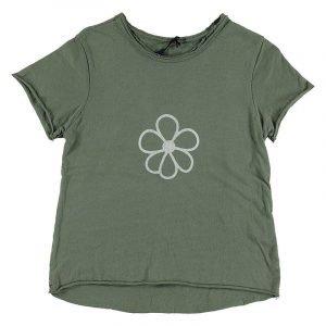 BI SUIT camiseta manga corta Flor Militar