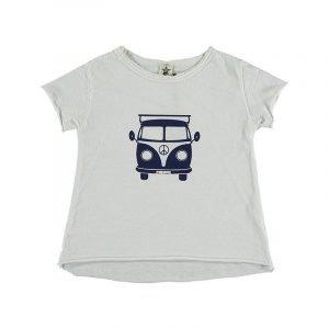 BI SUIT camiseta manga corta Furgo Blanca