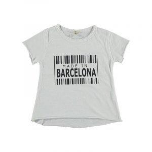 BI SUIT camiseta manga corta Barcelona Blanca