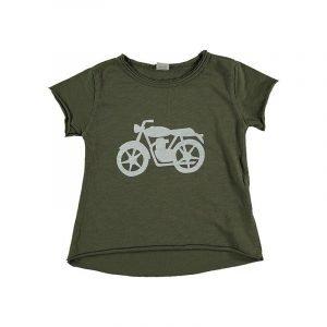 BI SUIT camiseta manga corta Moto Militar